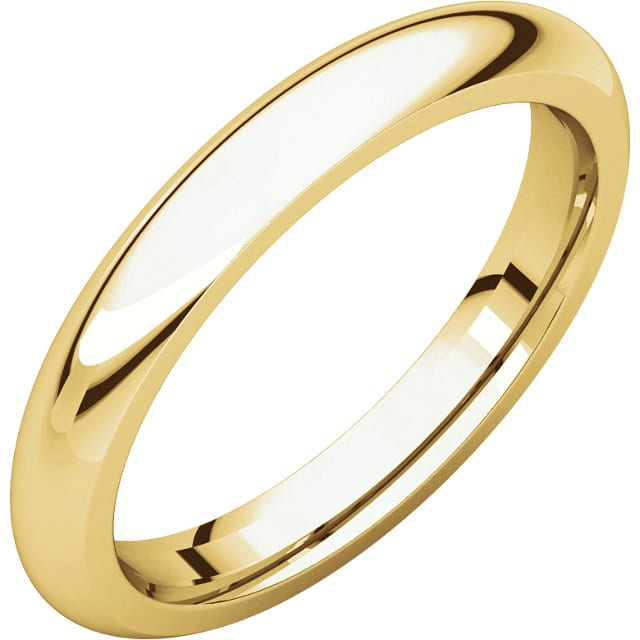 Comfort Fit Band In 14k Yellow Gold Home